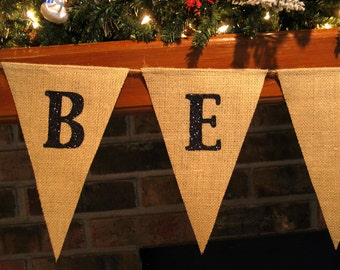 Be Merry Banner  ...   Christmas Banner
