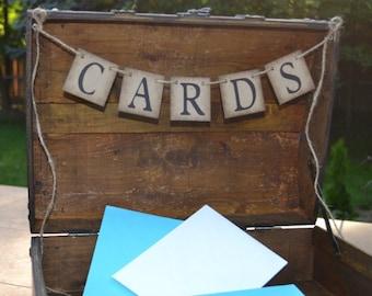 Cards Banner  ...   Suitcase decoration  ....   Reception