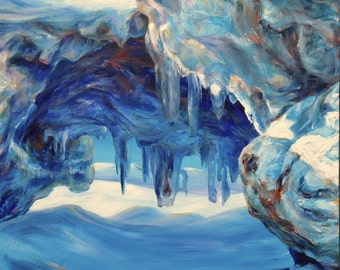 Ice Cave - Lake Erie