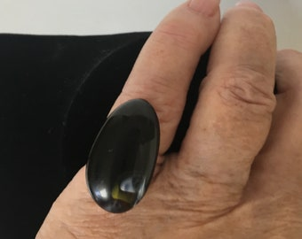Adjustable Ring from Recycled Venetian Glass