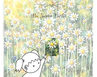 A Little Watercolorist ~four seasons~, Children's book by Sumiyo Toribe