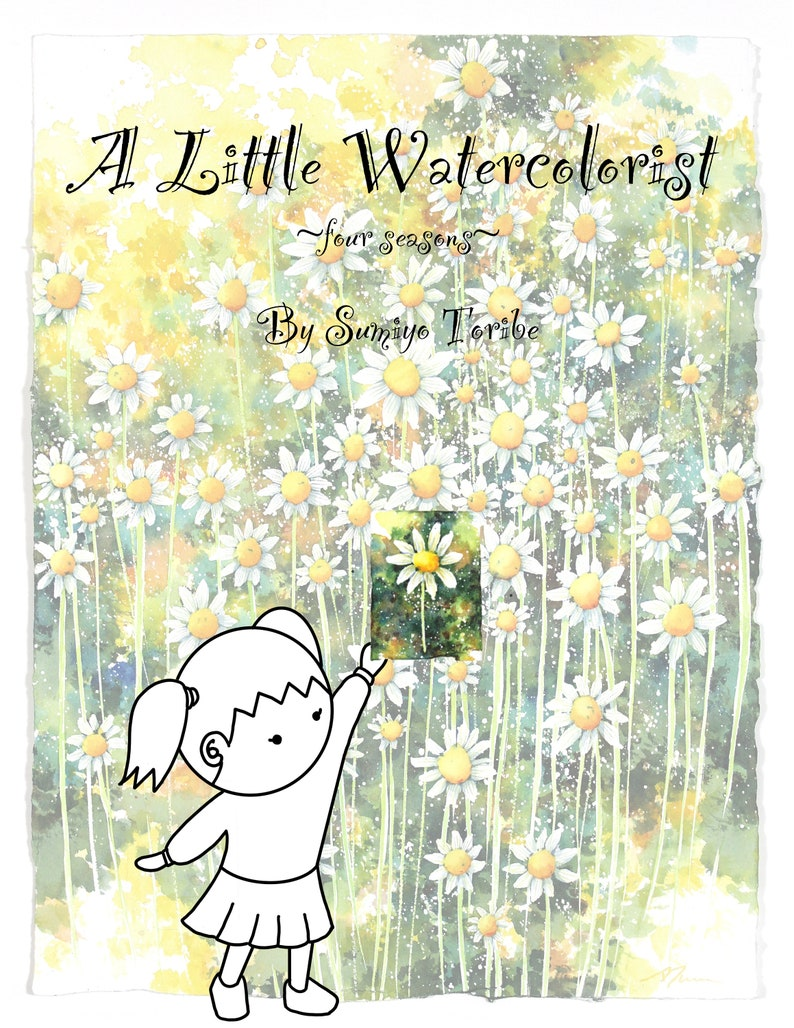 A Little Watercolorist four seasons Children's book by image 0