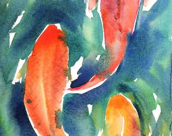 May 2020 no.3, limited edition of 50 fine art giclee prints from my original watercolor