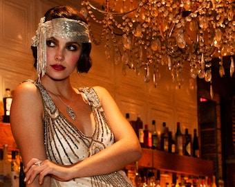 Jasmine, Beaded Assuit Headband