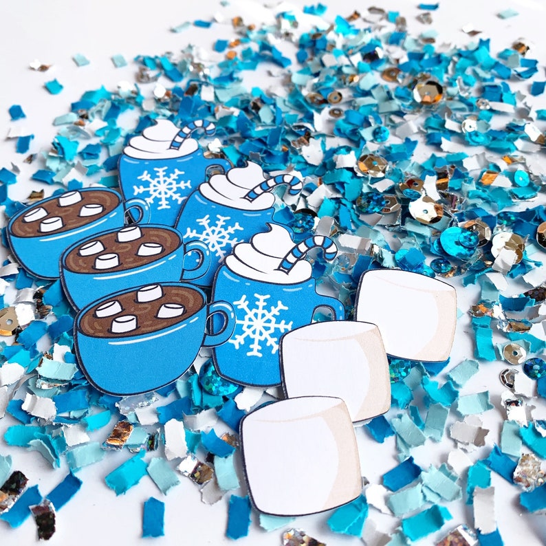Winter Party Decorations Hot Cocoa Party Hot Chocolate image 0