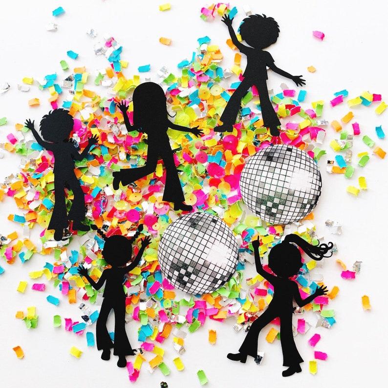 Dance Party Decorations Confetti Disco Party Supplies Dance image 0