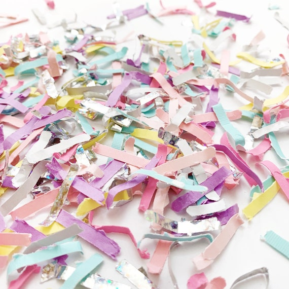 Unicorn Confetti Girl Party Ideas Tossing Pinata Filler Birthday Decorations Decor