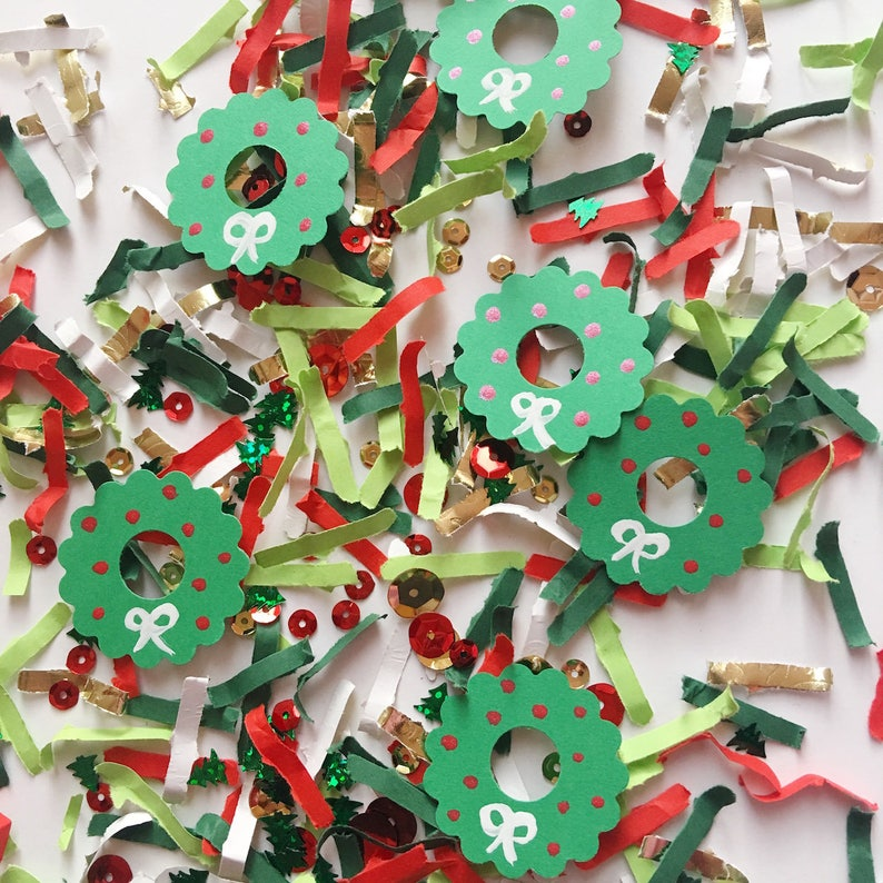 Christmas Party Confetti Table Scatter for Holiday Parties image 0