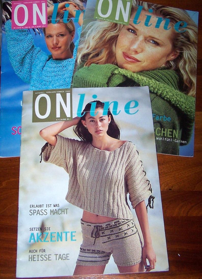 3 German Designer Knitting Magazines Online Men Women Shorts Etsy