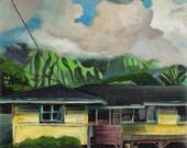 Kailua - giclee print on ...
