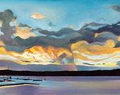Payette Lake Sunset - gic...