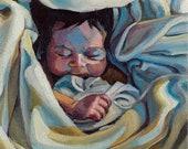 Cozy Snuggle - giclee pri...