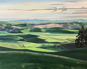 Sunrise on the Palouse fr...