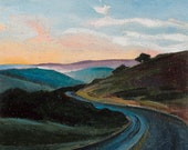 Limantour Road - giclee p...