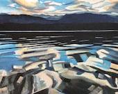 Dawn at Payette Lake...