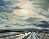 Silver Highway - giclee p...