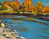 Boise River Autumn - gicl...