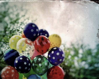 Fine art photography - Balloons - Color photography