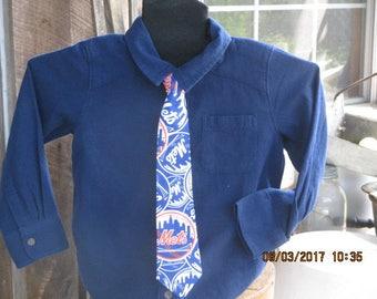 New York Mets necktie