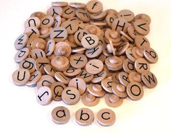 Alphabet Coins for Ten Frame, Twenty Frame, and Hundred Frame