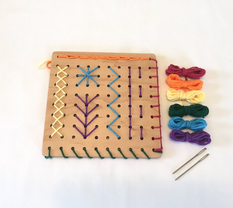 Sewing Board  Embroidery Board  Waldorf Handwork  Basic image 0