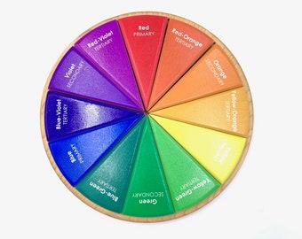 Color Wheel Puzzle - 12 Pieces