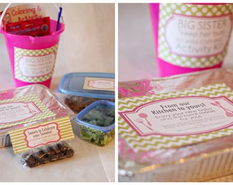 INSTANT Download-From the Kitchen: Gifting Dinner Printable Package - PDF
