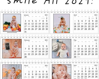 Funny Chubby Baby Desk Calendar-Smile through 2021 with Chase!