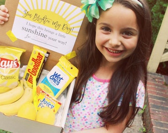 IMMEDIATE DOWNLOAD-Teacher Gift Giving - Box of Sunshine Printable PDF