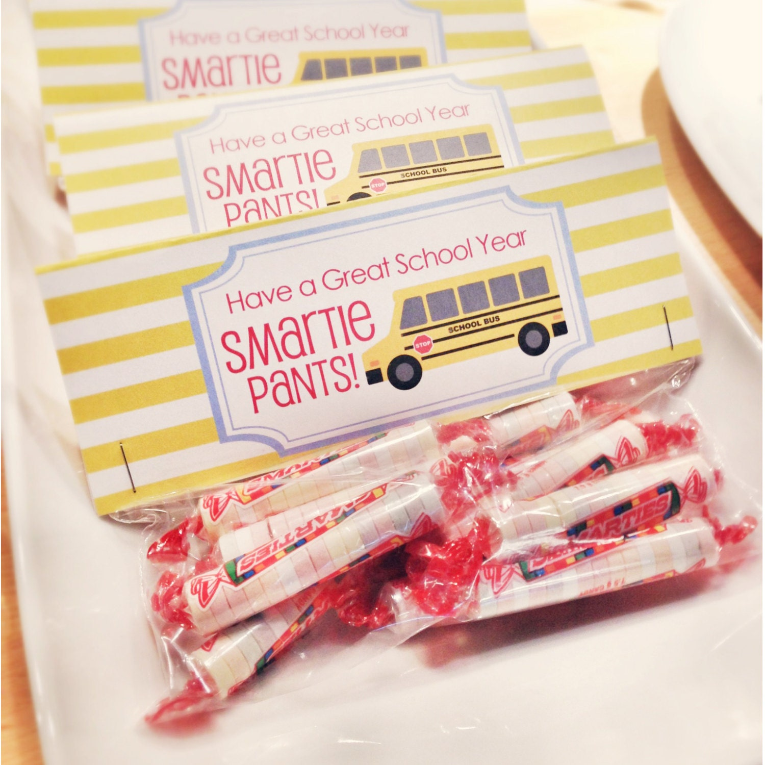 photograph about Smartie Pants Printable referred to as Immediate Obtain-Back again towards College Address Bag Tags: Smartie