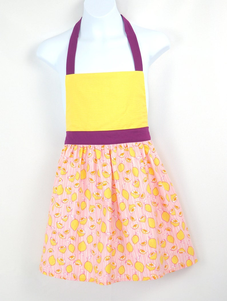 Pink Lemonade Children's Apron image 0