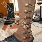 Steampunk Military Spats Sewing Pattern