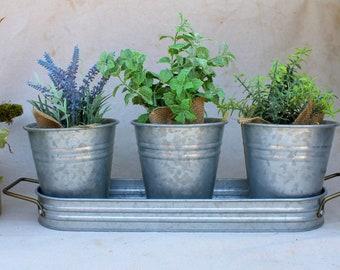 Metal Planter Etsy