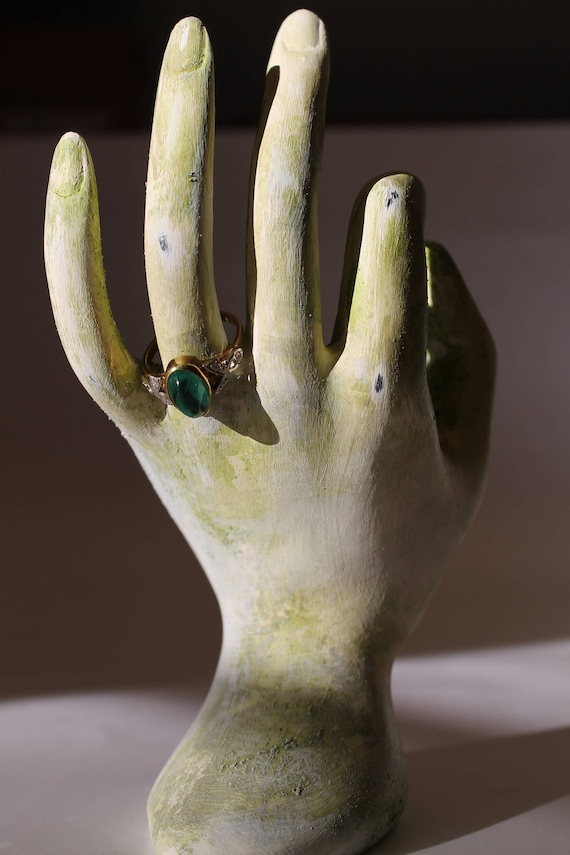 jewelry display prop ring holder hand stand jewelry display etsy