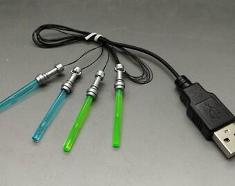 Star Wars General Grievous Lightup Lightsabers - USB
