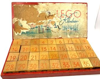 LEGO Klodser (500) Wooden blocks from 1948