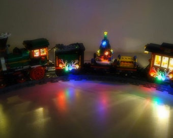 Light up kits for 10254 - Christmas Train - (Model not included)