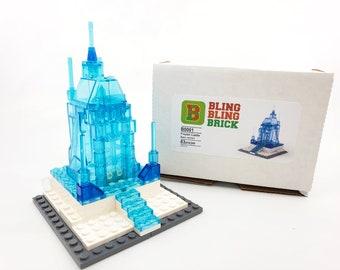 BlingBlingBrick – Custom build set - Frozen Castle - Basic versioan LEGO bricks