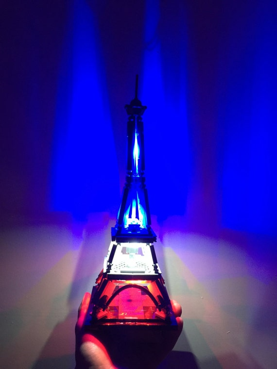 Light Up Kits For Lego Architecture 21019 The Eiffel Tower Etsy