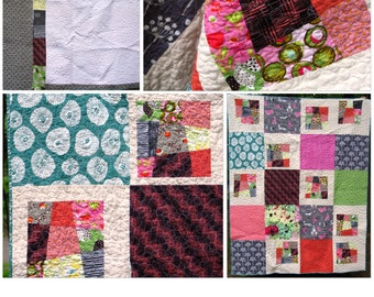 Crazy Charms Quilt Pattern PDF
