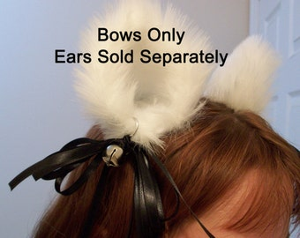 Bow and Bell add on  for Cat Ear Clips