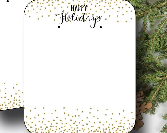 HOLIDAY•Earring Cards•2x3 Earring Cards•Jewelry Cards•Holiday Tags•Christmas Earring Cards•Holiday Labels•Christmas Tags•Glitter 1