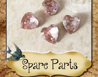 SPARE PARTS•Earring Parts•Necklace Parts•Vintage Components•Set 3