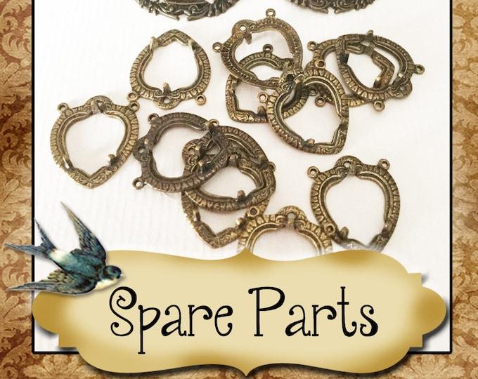 SPARE PARTS•Earring Parts•Necklace Parts•Vintage Components•Set 6