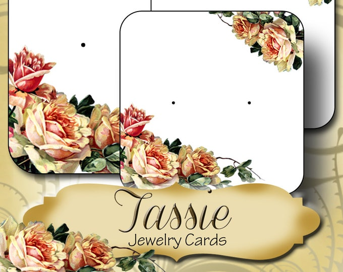 60•TASSIE•Necklace Card•Earring Cards•Jewelry Cards•Display Card•Display•Earring Holder•Necklace Holder•2x2 or 3x3