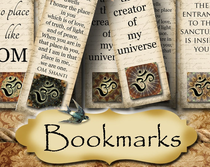 FAE•1.5x5 Affirmation BOOKMARKS•Yoga Bookmark•DIY•Printable Digital Images•Gift Tags•Yoga tag•Meditation•Printable Bookmark