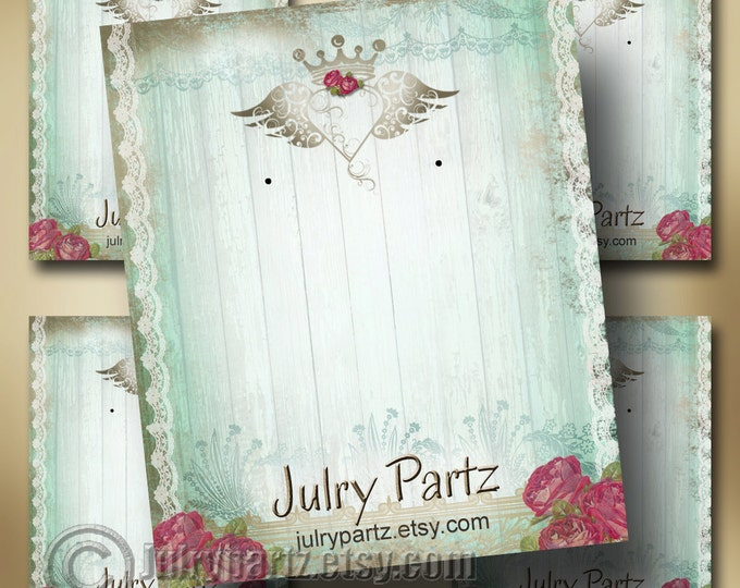 JUNK Gypsy•Earring Cards•Jewelry Cards•Junk Gypsy•Earring Display•Earring Holder•Custom Earring Card