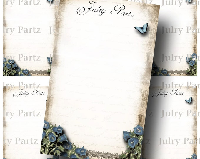 LE JARDIN BLUEBELLS Earring Cards, Jewelry cards,Tent Card, Earring Display, Display, Earring Holder, Necklace Holder
