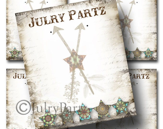 DIY Country Star, Earring Cards,DIY Jewelry cards,Tent Card,Earring Display,Earring Card,Necklace Holder, DIY Jewelry Cards, Printable Cards