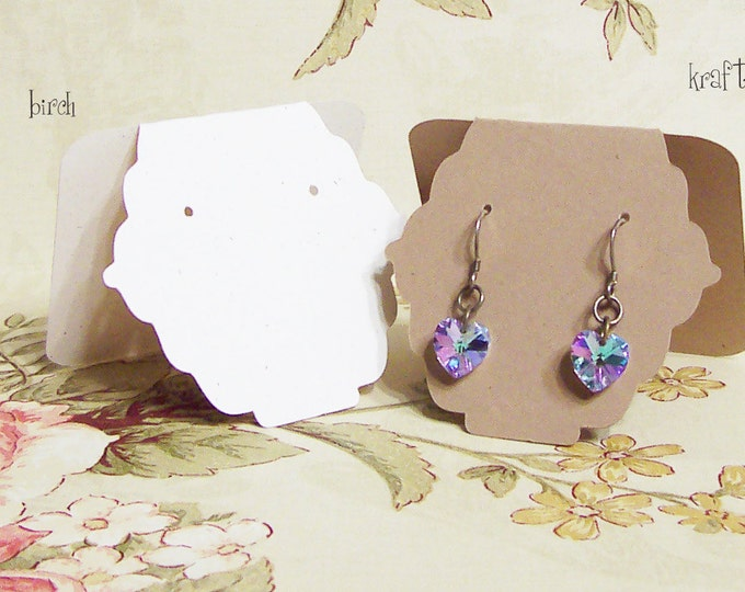 20•JESSIE• 2.5x2.5 inch•Tent Cards•EARRING CARDS•Jewelry Cards•Earring Display•Earring Card•Earring Holder